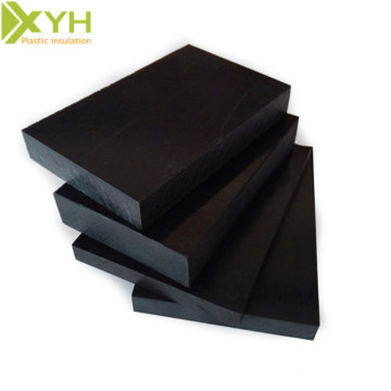 Black Anti-Static ESD POM Acetal Sheet